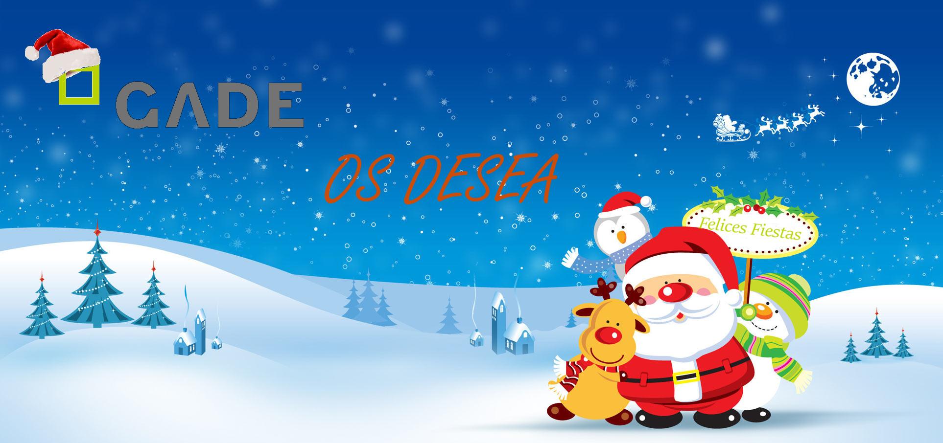 GADE os desea Felices Fiestas