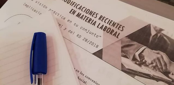 Modificaciones en materia laboral