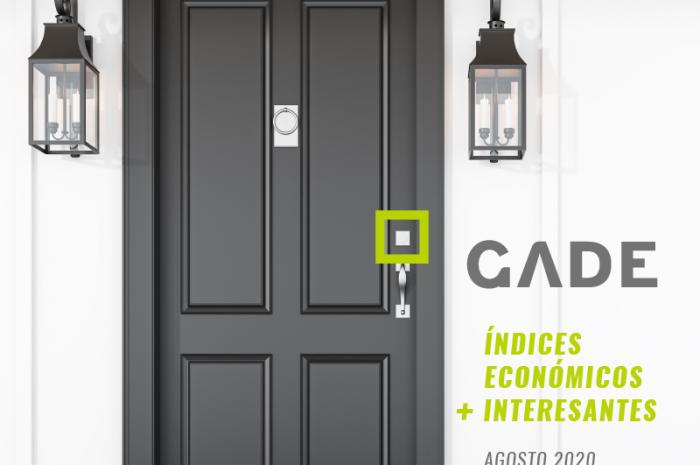 Índices económicos de interés – AGOSTO 2020